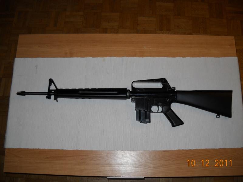 Black rifle Armi Jager AP74 Dscn0519