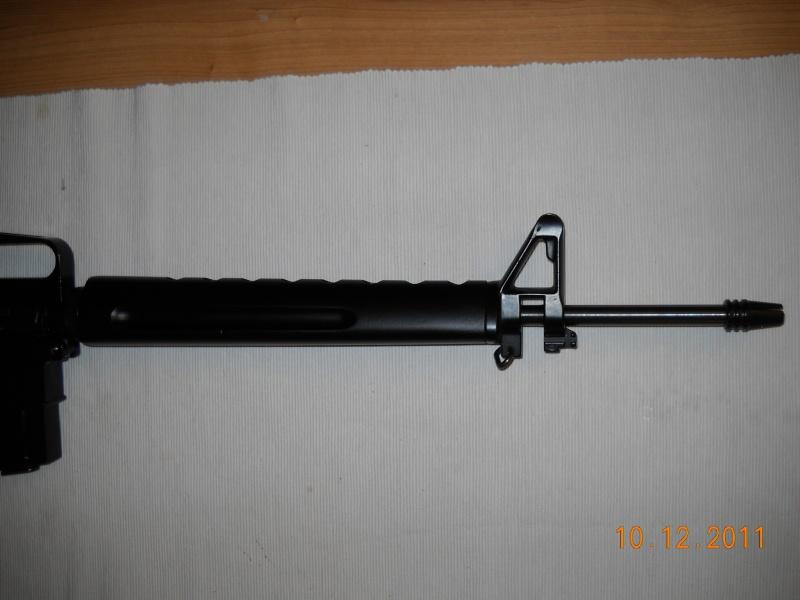 Black rifle Armi Jager AP74 Dscn0520