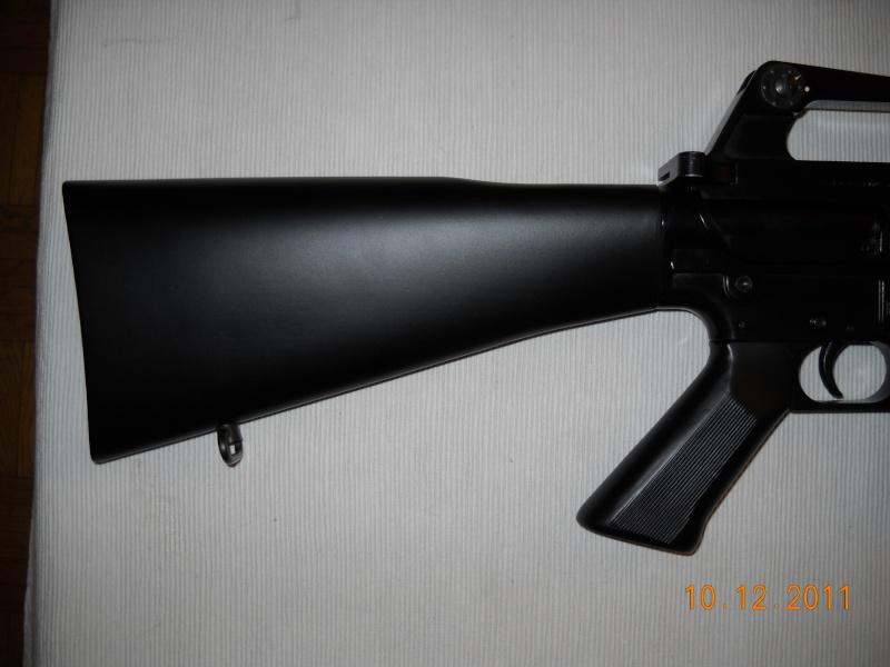 Black rifle Armi Jager AP74 Dscn0521