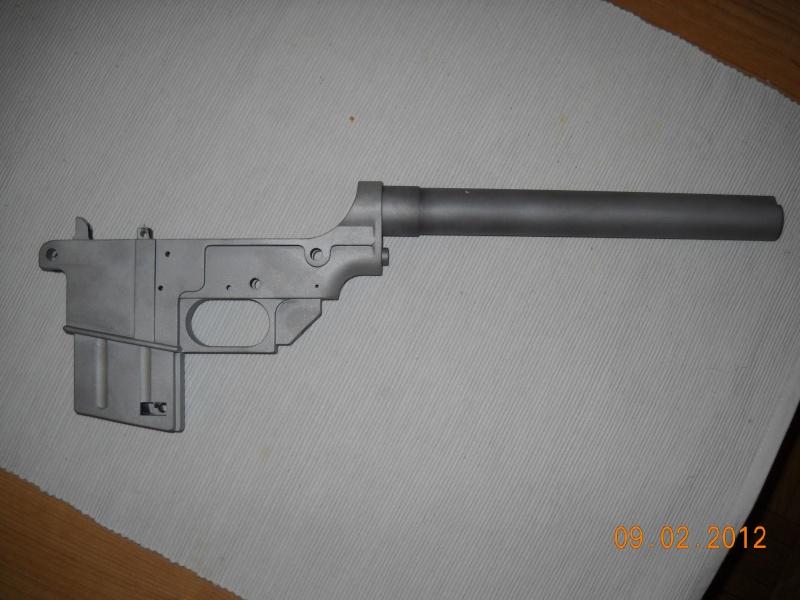 Black rifle Armi Jager AP74 Dscn0523