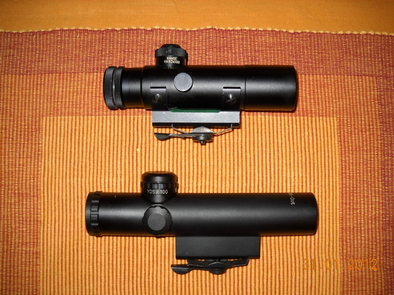 Black rifle Armi Jager AP74 Dscn0525