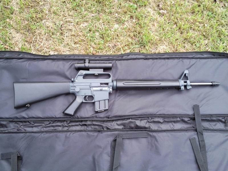 Black rifle Armi Jager AP74 Photo017