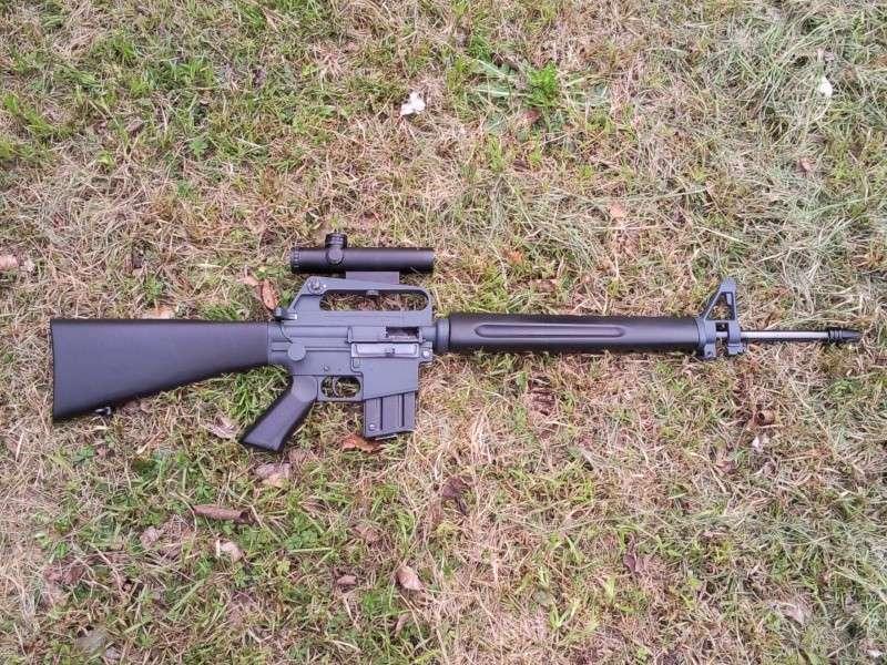 Black rifle Armi Jager AP74 Photo018