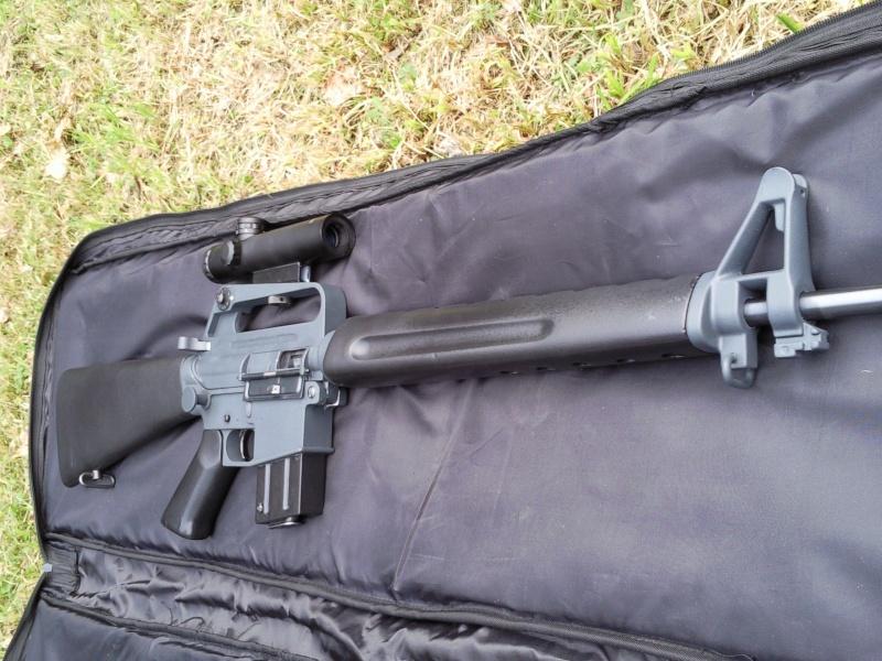 Black rifle Armi Jager AP74 Photo019
