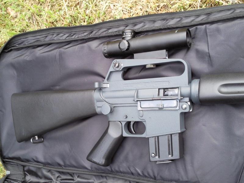 Black rifle Armi Jager AP74 Photo020
