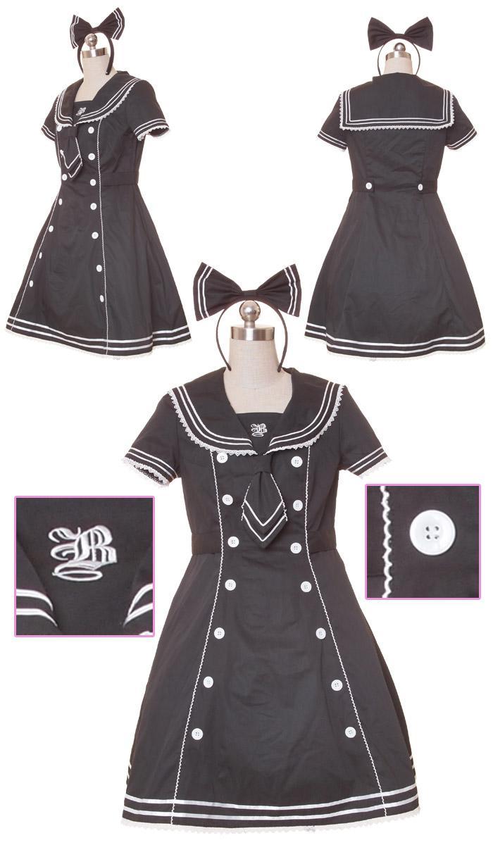 [Seller] Brand new Sailor Fuku/lolita dress ;3 Bod10