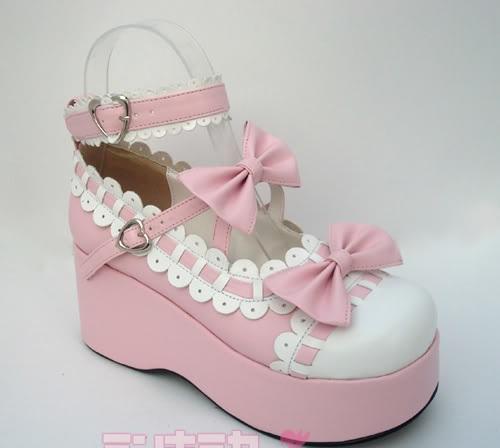 [Seller] Sweet Lolita Cupcake Platforms, Bulk lot of 8 DVDs Shoe110