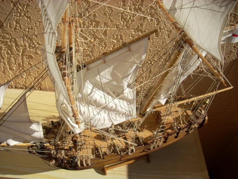 HMS Halifax 1768 (Constructo 1/35°) de sangha 01012