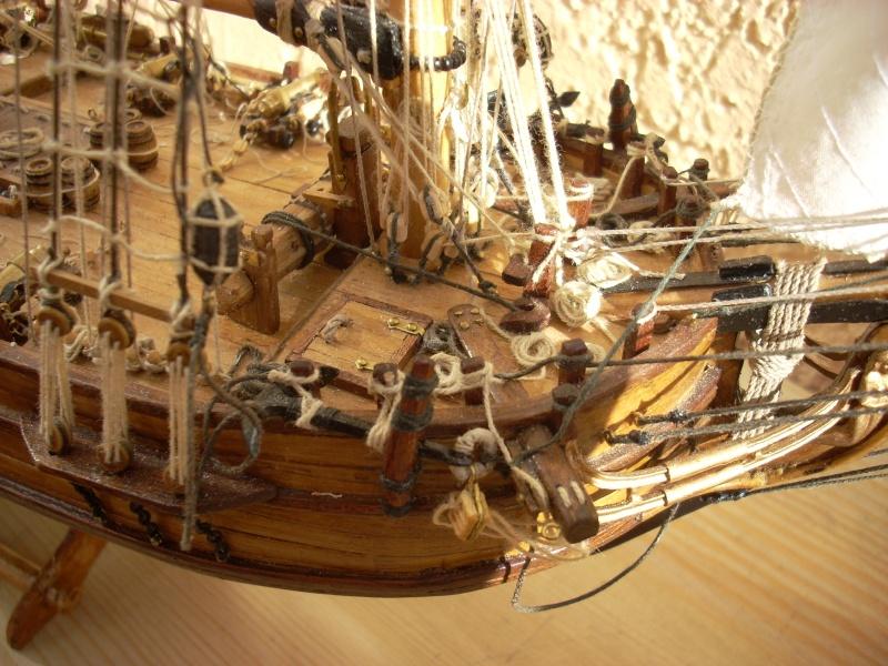 HMS Halifax 1768 (Constructo 1/35°) de sangha 02410