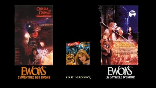 Projet des éditions de fans (Bluray, DVD, HD) : Les anciens doublages restaurés en qualité optimale ! Ewoks_10