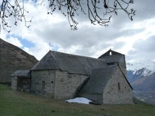 Dernières neiges d'hiver en vallée du Louron 06010