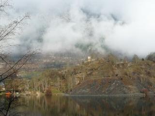 Dernières neiges d'hiver en vallée du Louron 07110