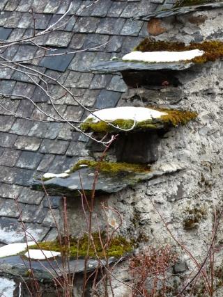 Dernières neiges d'hiver en vallée du Louron 07710