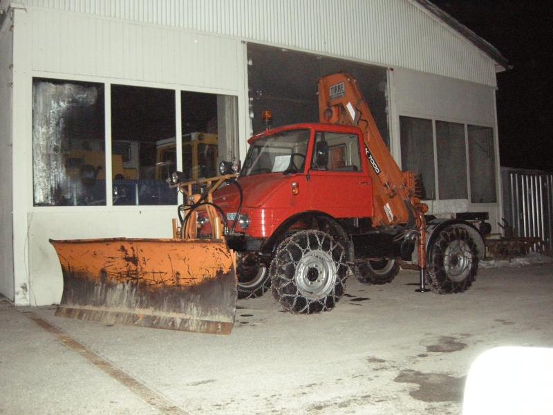photos unimog chasse neige 07211