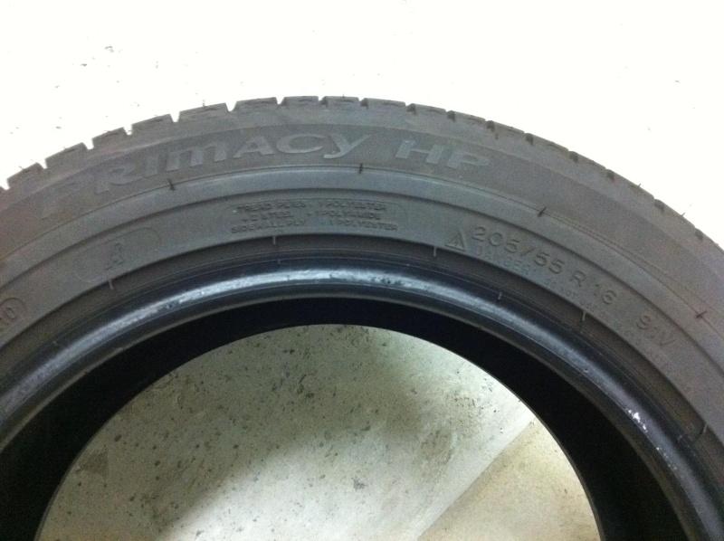 Pneu Michelin Primacy HP 205/55/R16 91V  Img_1113