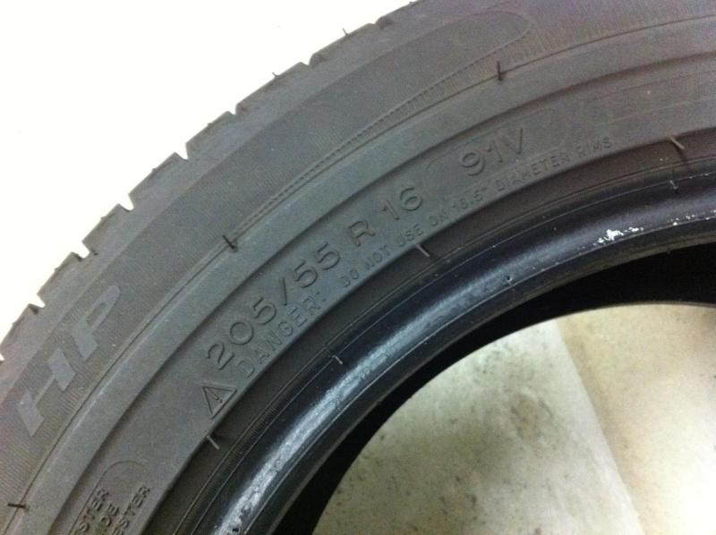 Pneu Michelin Primacy HP 205/55/R16 91V  Img_1114