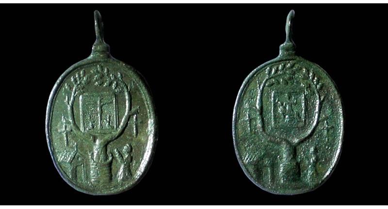 Médaille Pèlerinage ND-de-Piété à Banelle (Allier-03) 01710