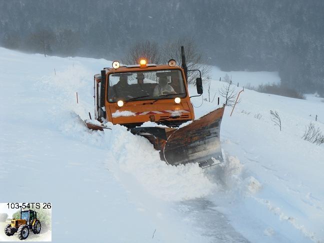 photos unimog chasse neige 13et1410
