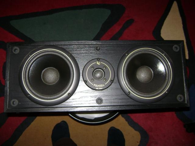 Infinity center speaker Dsc02411