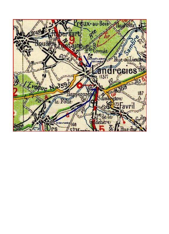 Les combats de Landrecies 17 mai 1940 Landre12