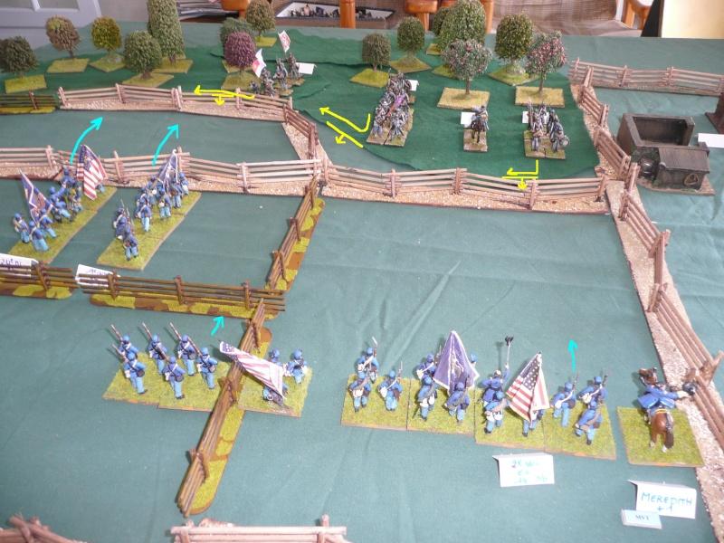 Gettysburg first day, 1er contact avec jr3 P1050526