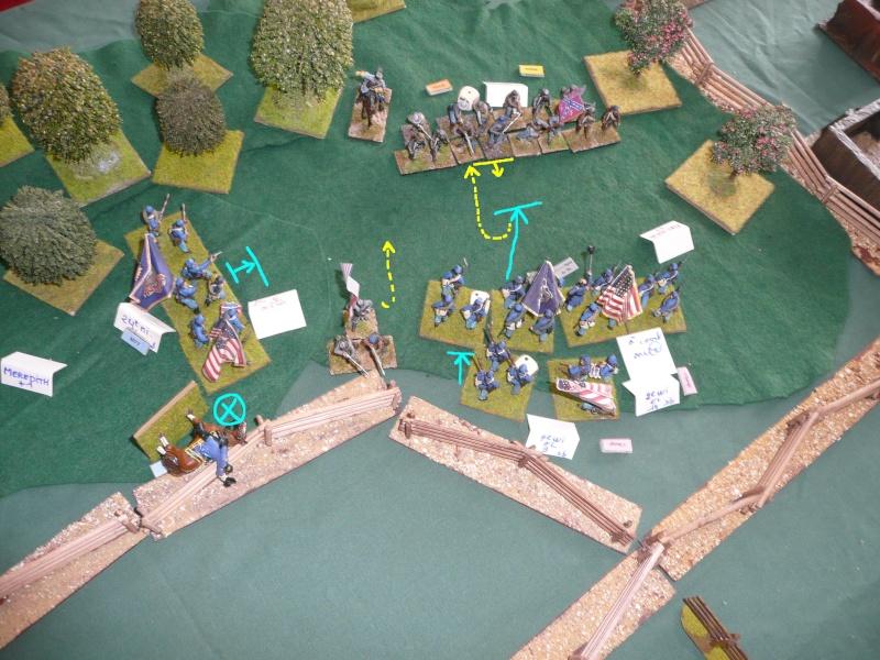 Gettysburg first day, 1er contact avec jr3 P1050531