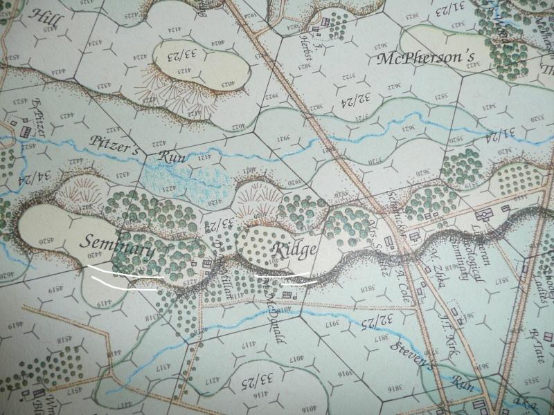 Campagne gettysburg - été 2011 - premier combat à Seminary ridge P1050536