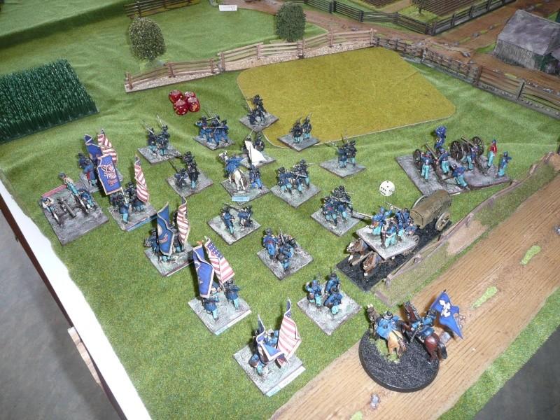 Campagne gettysburg - été 2011 - premier combat à Seminary ridge P1050540