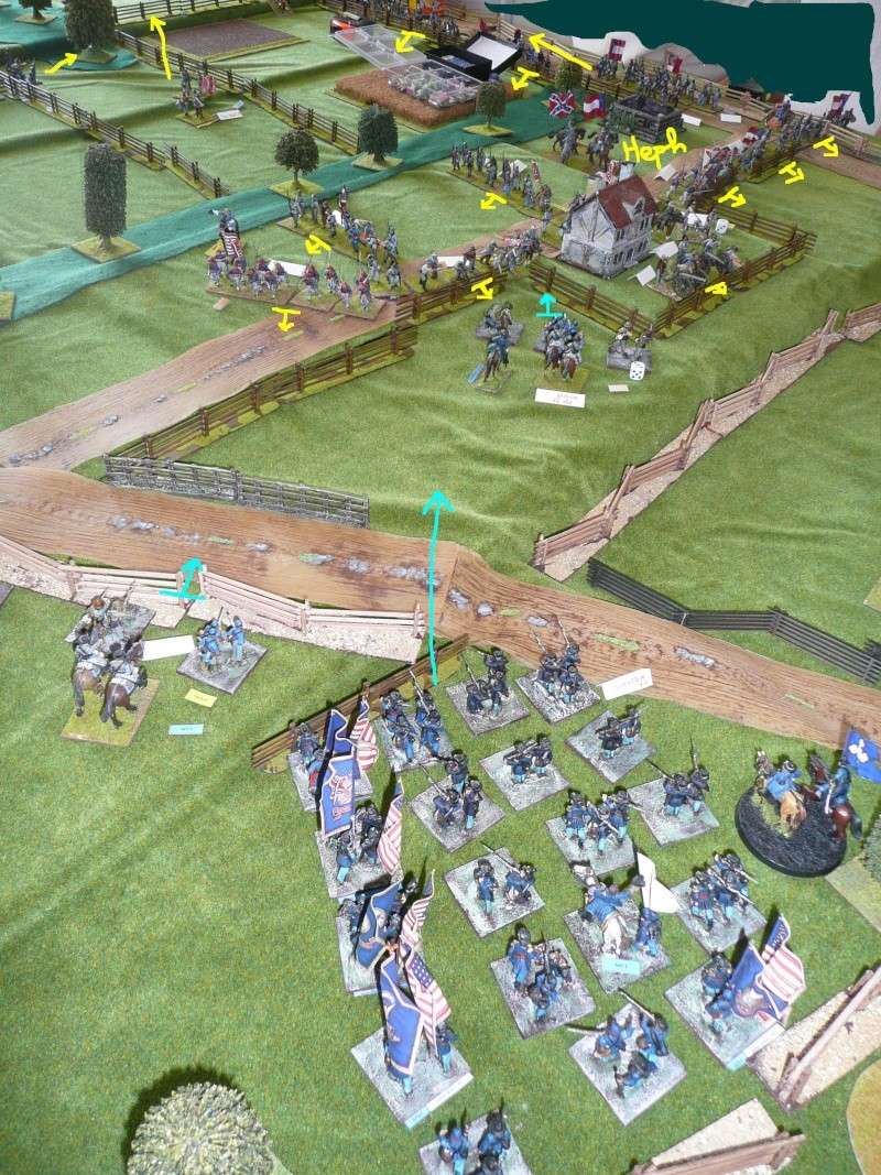 Campagne gettysburg - été 2011 - premier combat à Seminary ridge P1050542