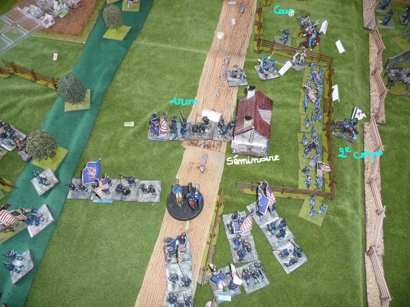 Campagne gettysburg - été 2011 - premier combat à Seminary ridge P1050544