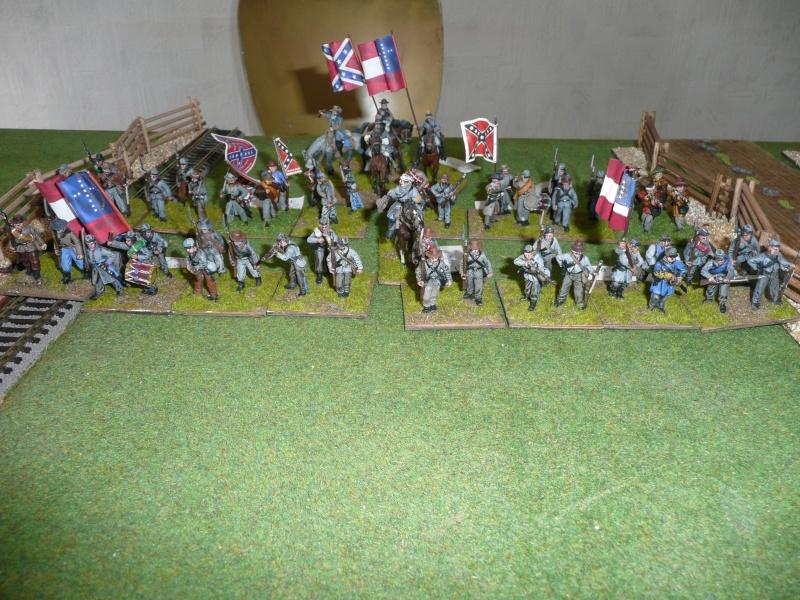 Campagne gettysburg - été 2011 - combat à Rock Creek, 30 juin, 11 heures P1050621