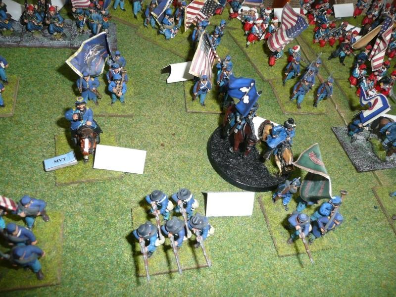 Campagne gettysburg - été 2011 - combat à Rock Creek, 30 juin, 11 heures P1050622