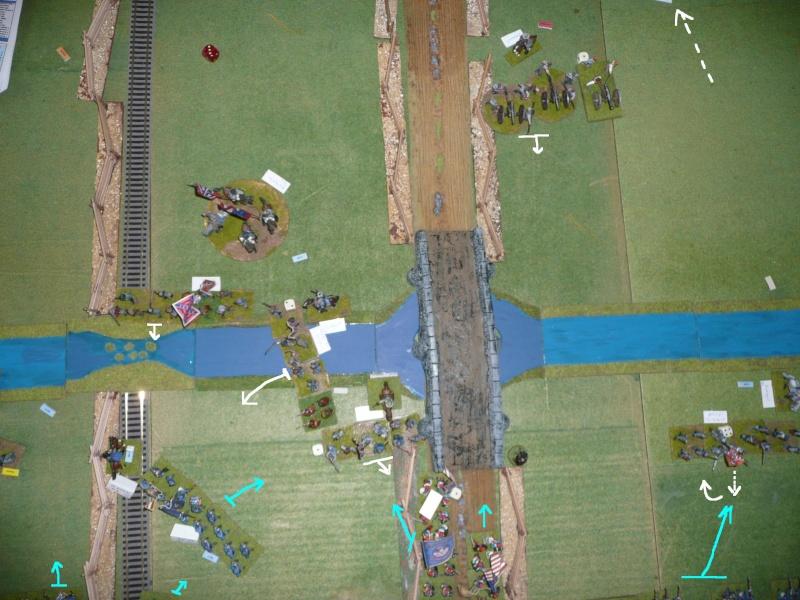 Campagne gettysburg - été 2011 - combat à Rock Creek, 30 juin, 11 heures P1050623