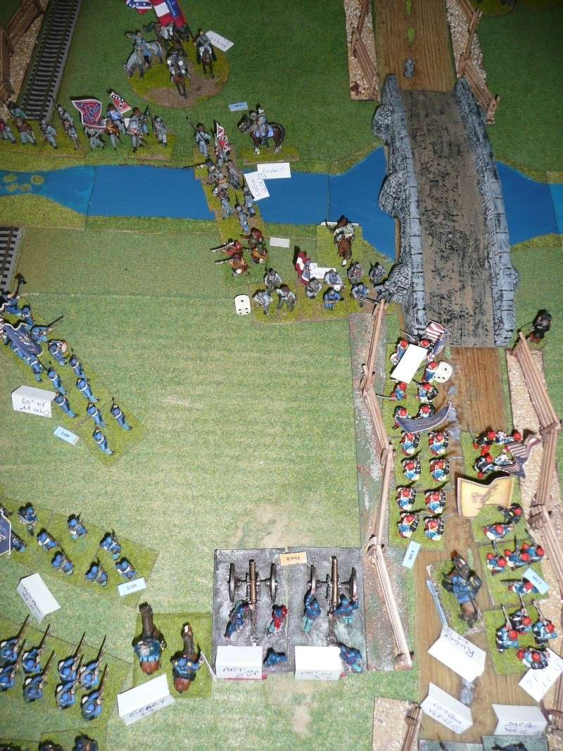 Campagne gettysburg - été 2011 - combat à Rock Creek, 30 juin, 11 heures P1050624