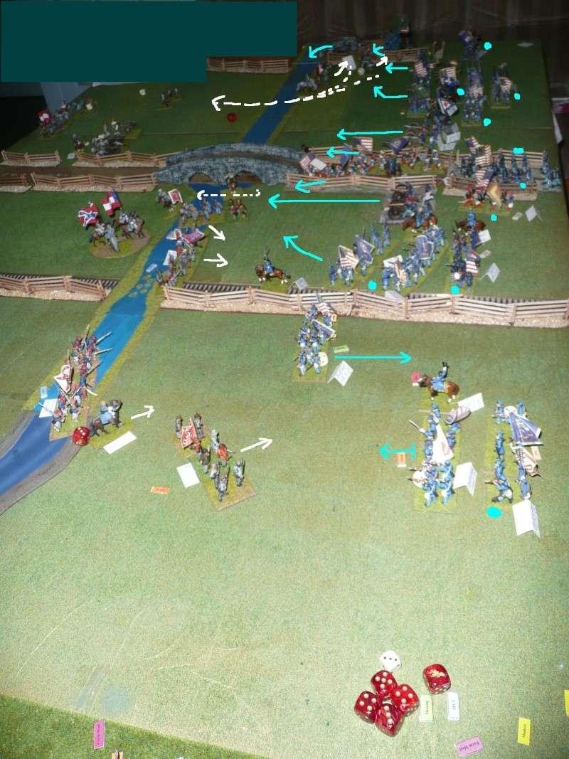 Campagne gettysburg - été 2011 - combat à Rock Creek, 30 juin, 11 heures P1050625