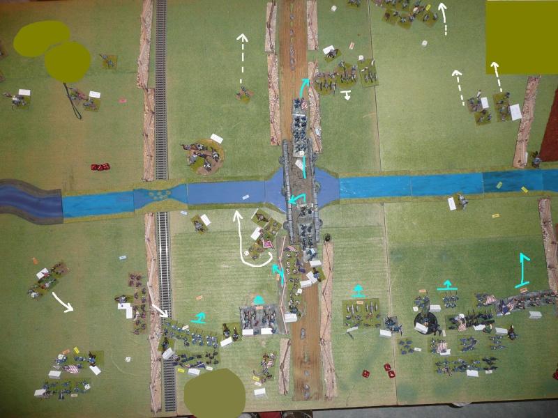 Campagne gettysburg - été 2011 - combat à Rock Creek, 30 juin, 11 heures P1050626