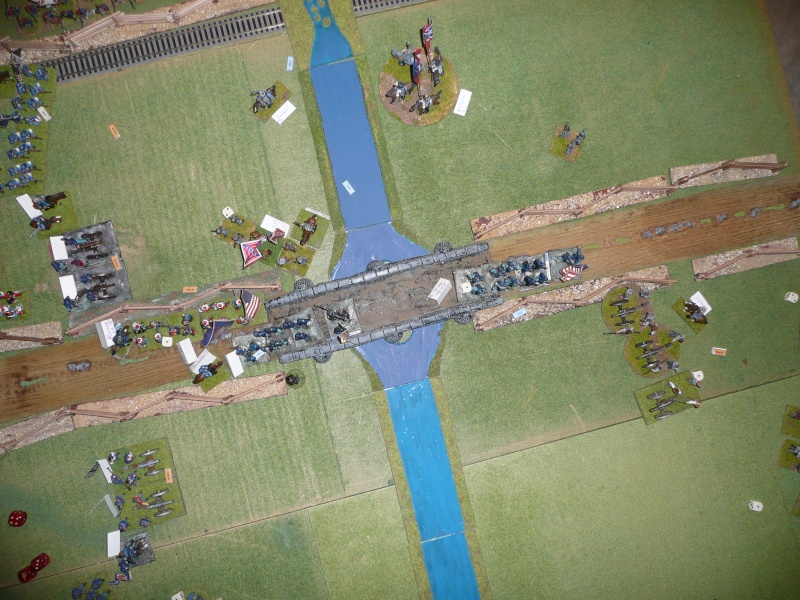 Campagne gettysburg - été 2011 - combat à Rock Creek, 30 juin, 11 heures P1050627