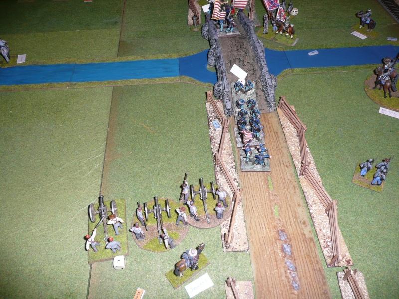 Campagne gettysburg - été 2011 - combat à Rock Creek, 30 juin, 11 heures P1050628