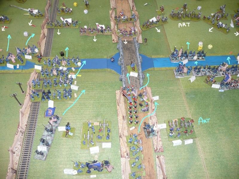Campagne gettysburg - combat à Rock Creek, 30 juin, 11 heures, revenge P1050692