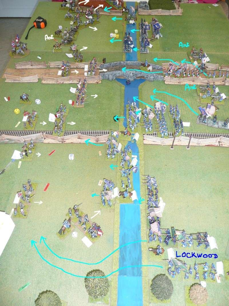 Campagne gettysburg - combat à Rock Creek, 30 juin, 11 heures, revenge P1050693