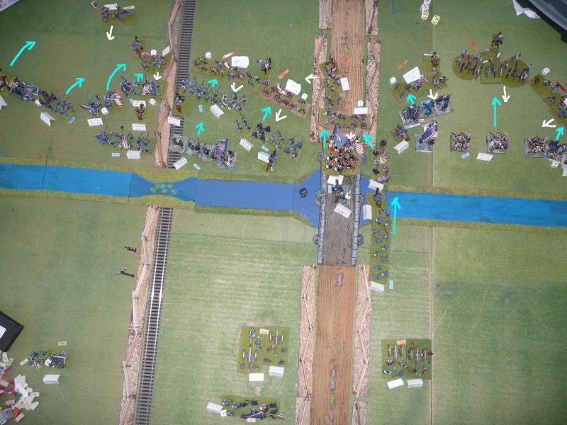Campagne gettysburg - combat à Rock Creek, 30 juin, 11 heures, revenge P1050694