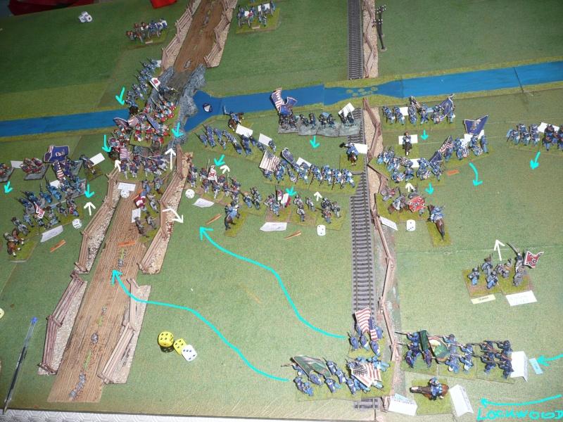 Campagne gettysburg - combat à Rock Creek, 30 juin, 11 heures, revenge P1050710