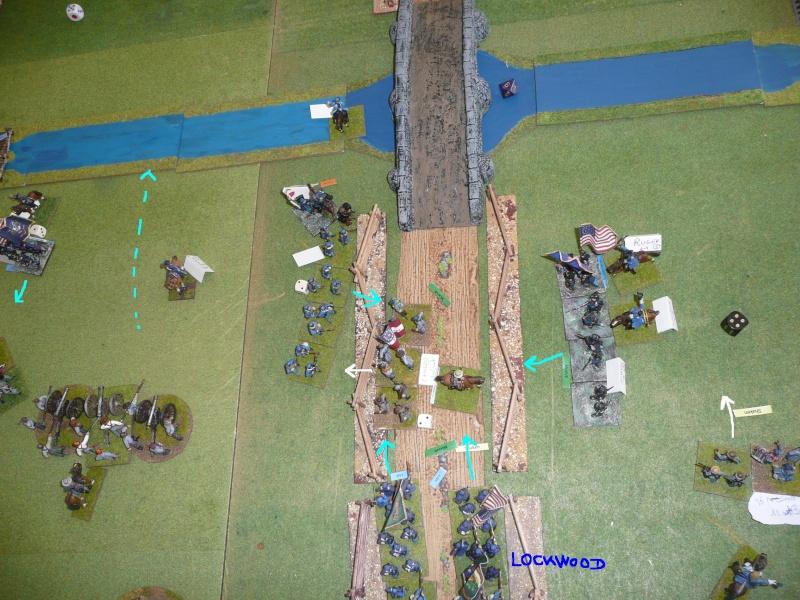 Campagne gettysburg - combat à Rock Creek, 30 juin, 11 heures, revenge P1050711