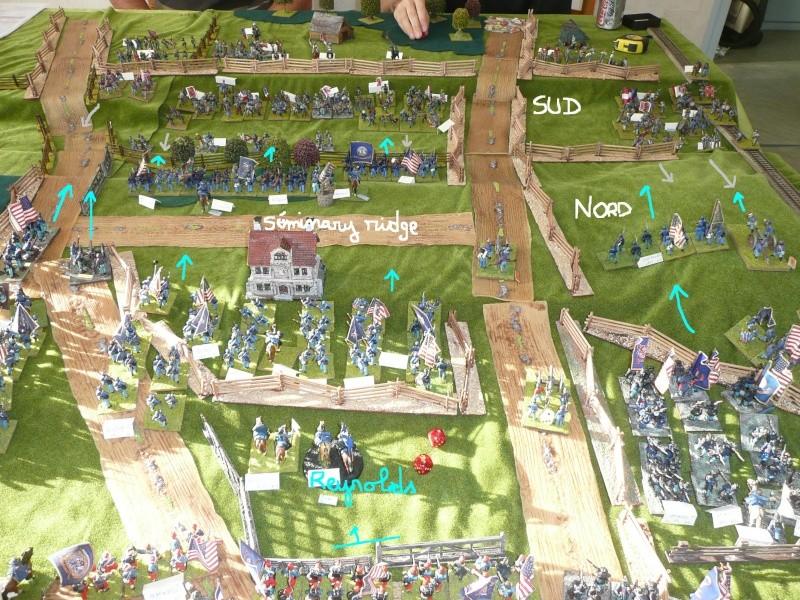 campagne Gettysburg - automne 2011 - 2e combat à Seminary ridge P1050919