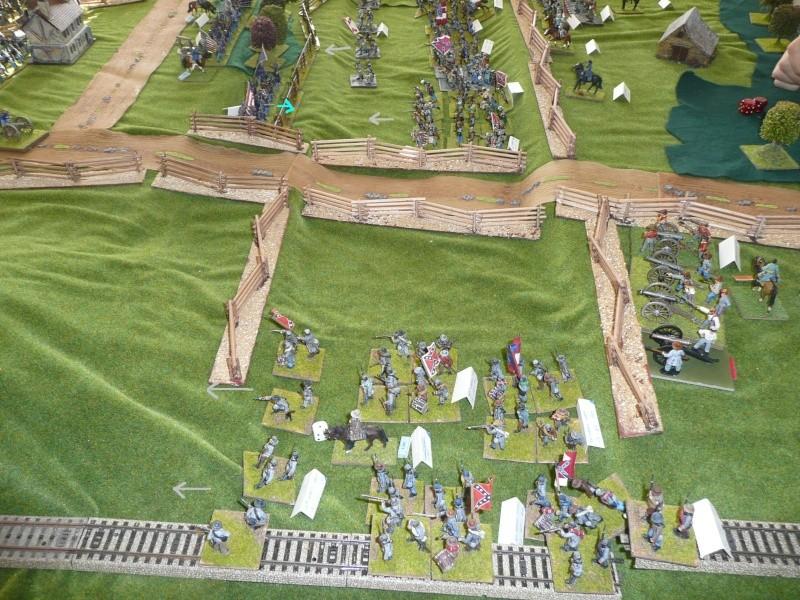 campagne Gettysburg - automne 2011 - 2e combat à Seminary ridge P1050920