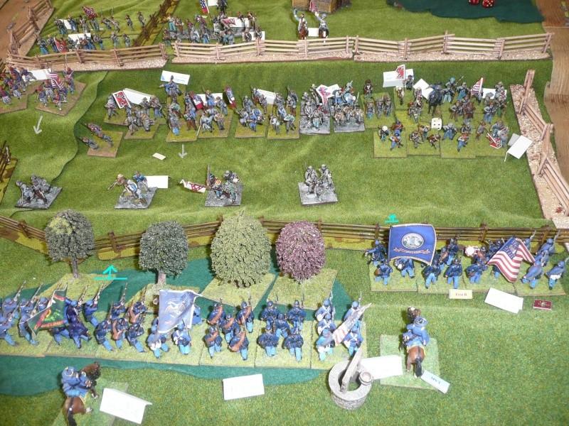 campagne Gettysburg - automne 2011 - 2e combat à Seminary ridge P1050923