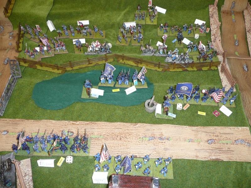 campagne Gettysburg - automne 2011 - 2e combat à Seminary ridge P1050924
