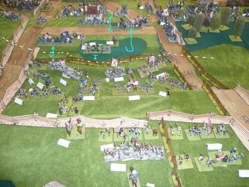 campagne Gettysburg - automne 2011 - 2e combat à Seminary ridge P1050925