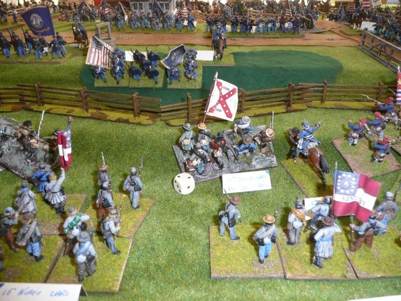 campagne Gettysburg - automne 2011 - 2e combat à Seminary ridge P1050926