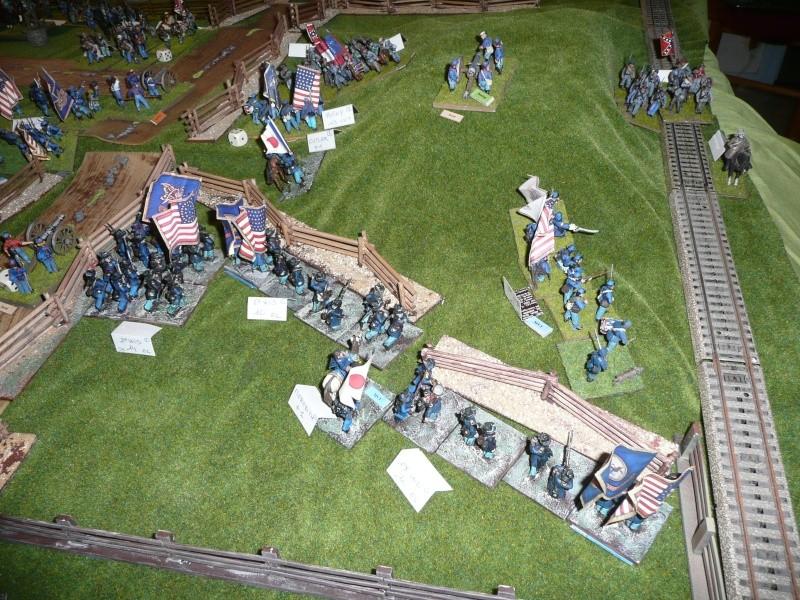 campagne Gettysburg - automne 2011 - 2e combat à Seminary ridge P1050929